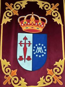 Escudo oficial del Ayuntamiento de Horcajo de Santiago