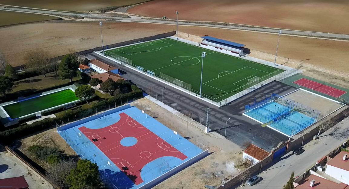 instalaciones deportivas en Horcajo de Santiago
