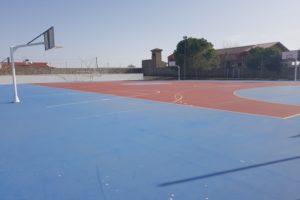 pista multideportiva en Horcajo de Santiago